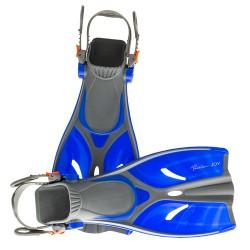 Детские ласты для плавания и снорклинга Marlin JOY blue