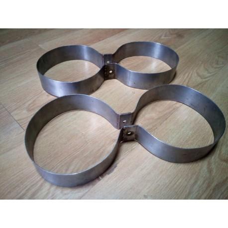 Нержавеющие кольца для дайверской спарки. Диаметр 171 мм.