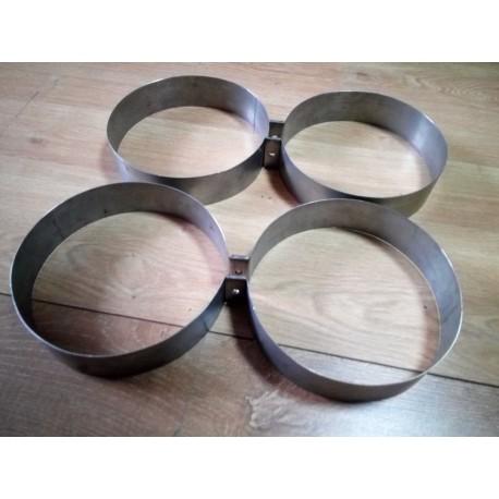 Нержавеющие кольца для дайверской спарки. Диаметр 203 мм.