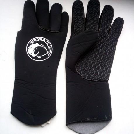 Перчатки Sporasub 3mm  размер М. С титановым напылением.